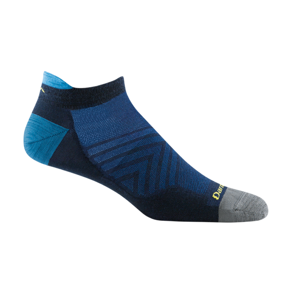 Darn Tough Men's Run No Show Tab Ultra-Lightweight Running Sock Eclipse