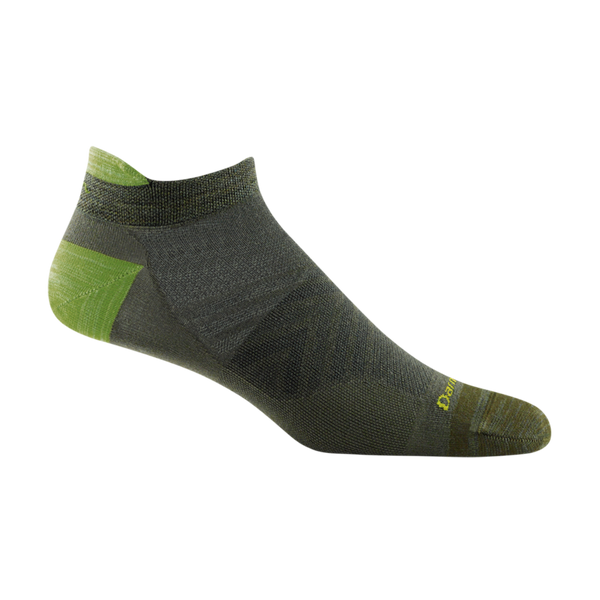 Darn Tough Men's Run No Show Tab Ultra-Lightweight Running Sock Fatigue