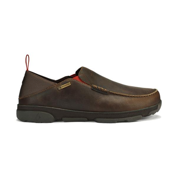 Olukai Men's Na'i Waterproof Carob/Dark Wood
