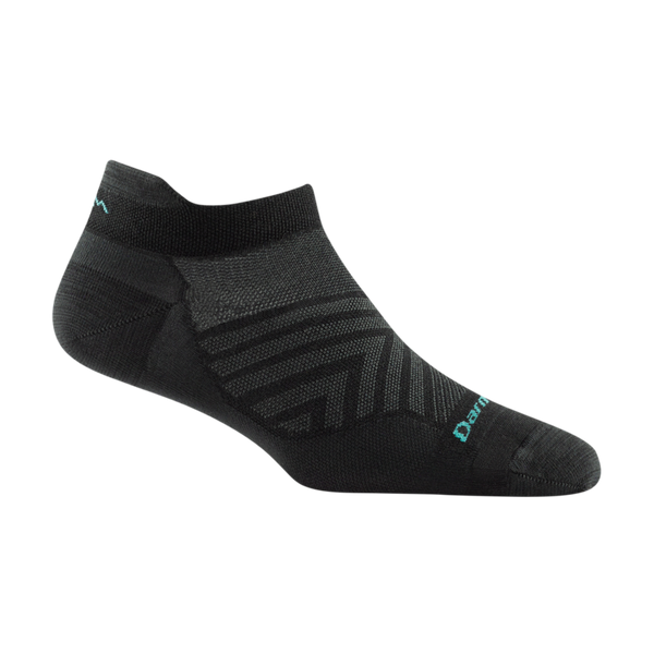 Darn Tough Women's Run No Show Tab Ultra-Lightweight Running Sock Black