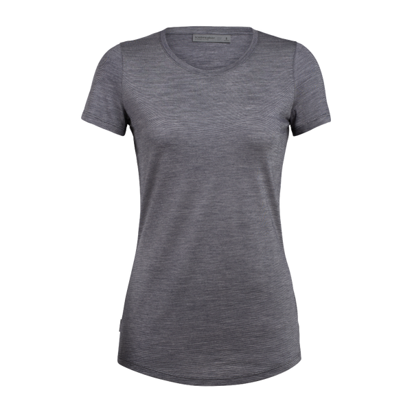 Icebreaker Women's Sphere SS Low Crew Panther