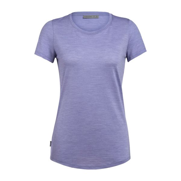 Icebreaker Women's Sphere SS Low Crew Orchid Heather