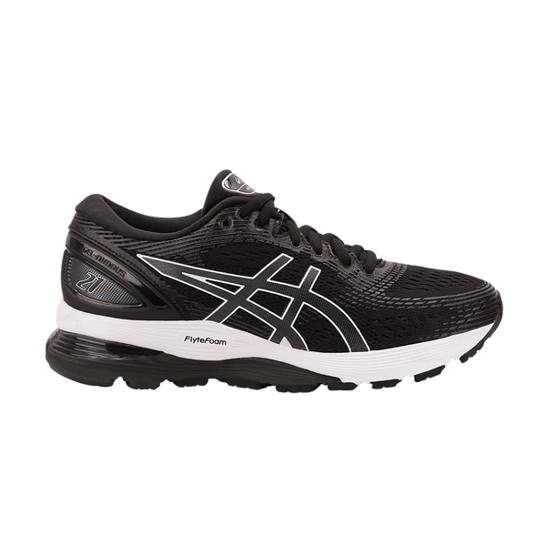 Asics Women's GEL-Nimbus 21 Black/Dark Grey