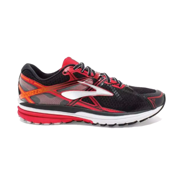 Brooks Men's Ravenna 7 Black/High Risk Red