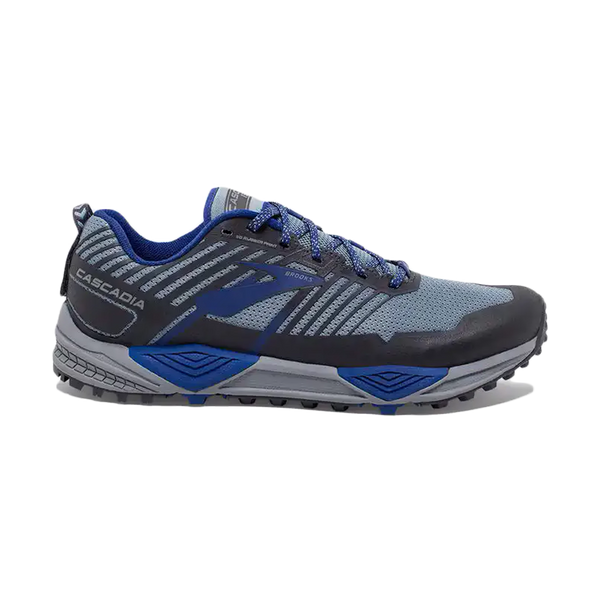 Brooks Men's Cascadia 13 Grey/Blue