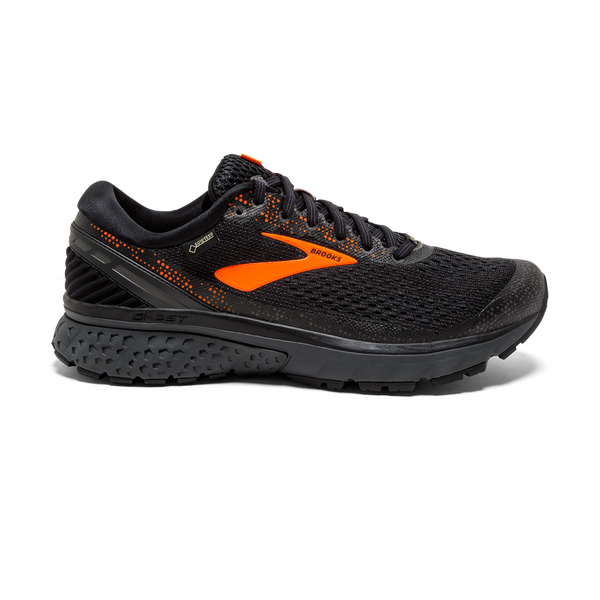 Brooks Men's Ghost 11 GTX Black/Orange