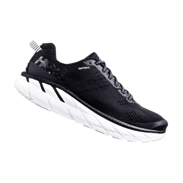 Hoka One One Men's Clifton 6 Black/White