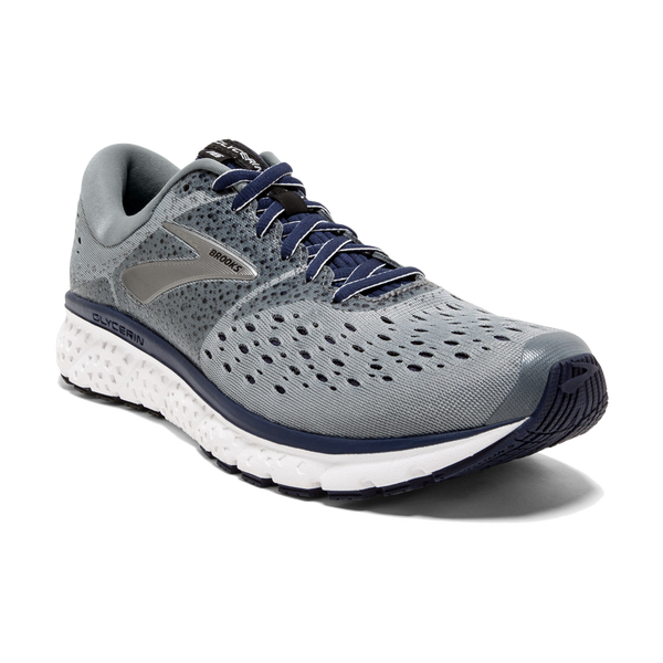 Brooks Men's Glycerin 16 Grey/Navy