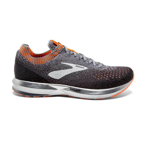 Brooks Men's Levitate 2 Ebony/Orange