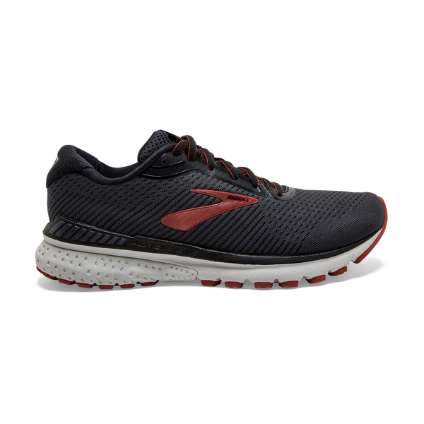 Brooks Men's Adrenaline GTS 20 Black/Ketchup