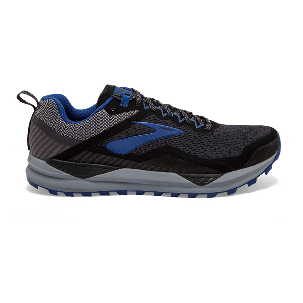 Brooks Mens Cascadia 14 GTX Black/Blue