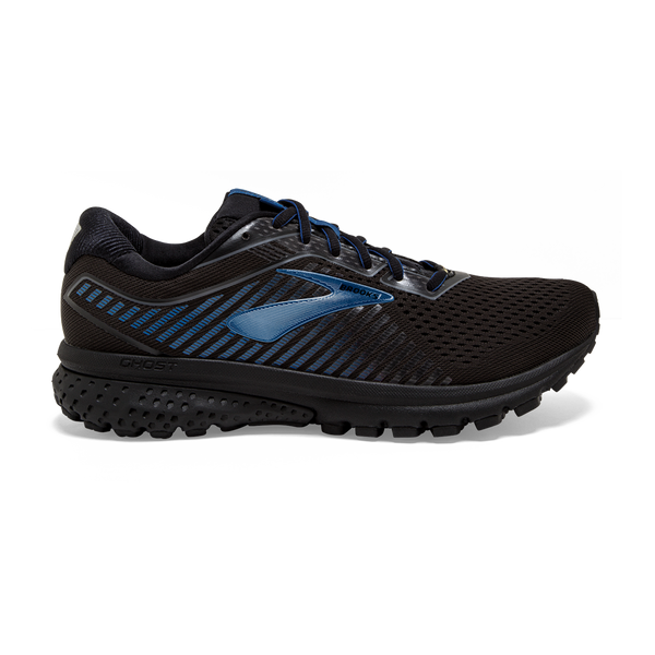 Brooks Mens Ghost 12 GTX Black/Blue