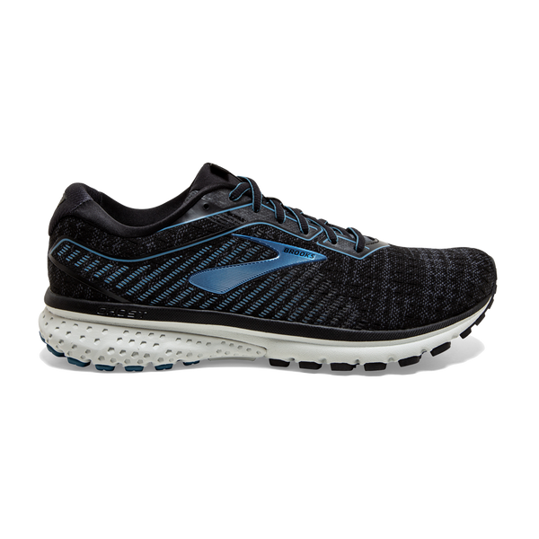 Brooks Men's Ghost 12 Black/Grey/Stellar