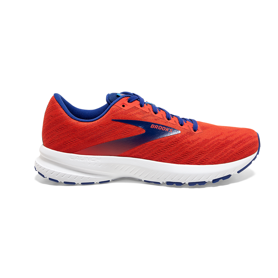 Brooks Men's Launch 7 Cherry/Red/Mazarine