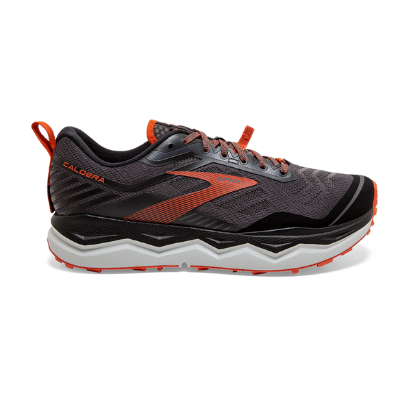 Brooks Men's Caldera 4 Black/Grey/Burnt