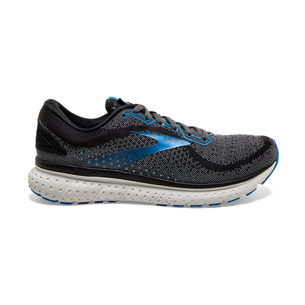 Brooks Men's Glycerin 18 Black/Ebony/Blue