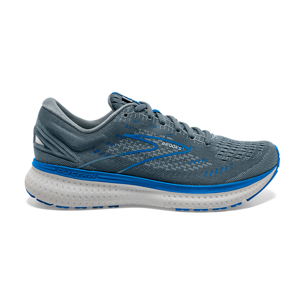 Brooks Men's Glycerin 19 Quarry/Grey/Dark Blue