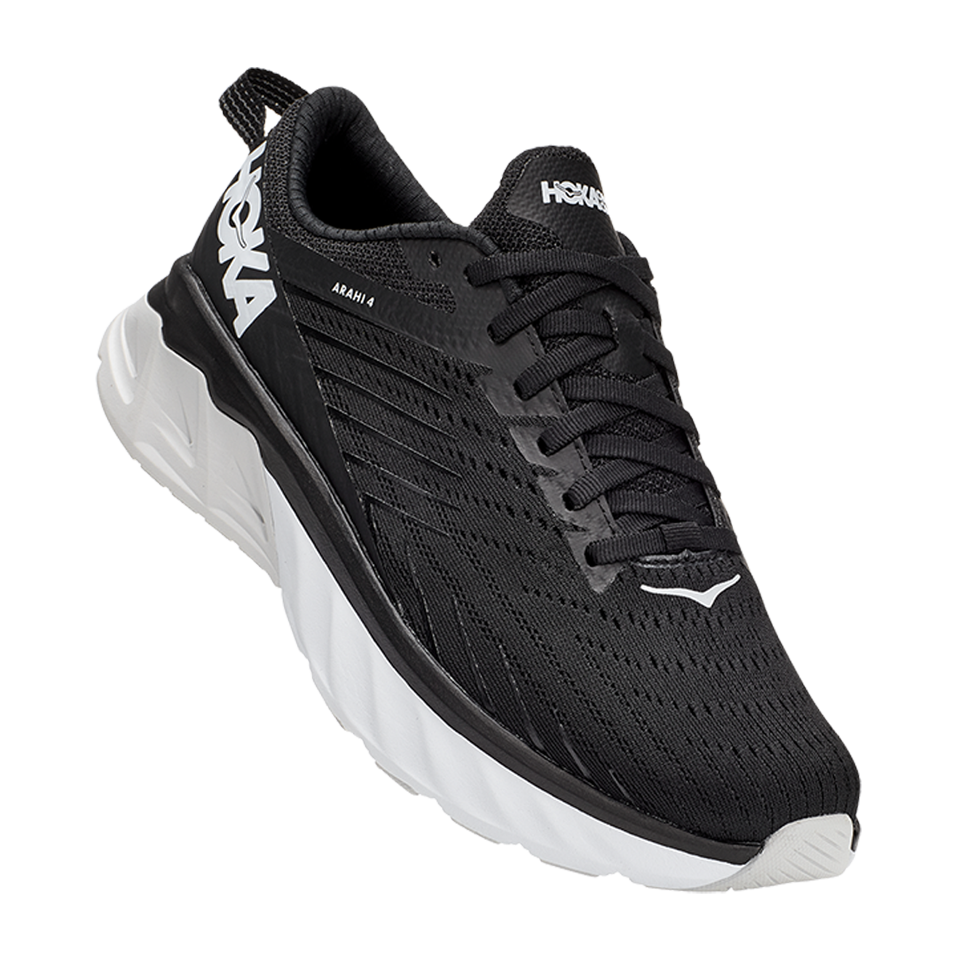 Hoka One One Women's Arahi 4 Black/White