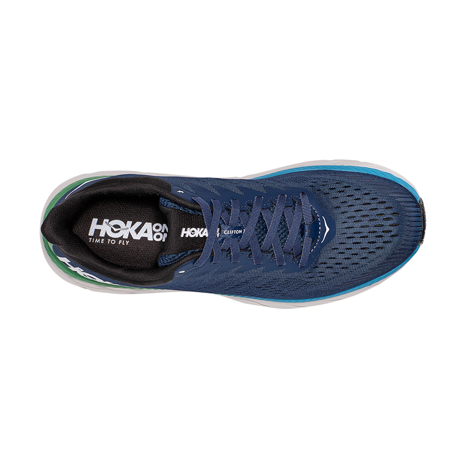 Hoka One One Men's Clifton 7 Moonlit Ocean/Anthracite