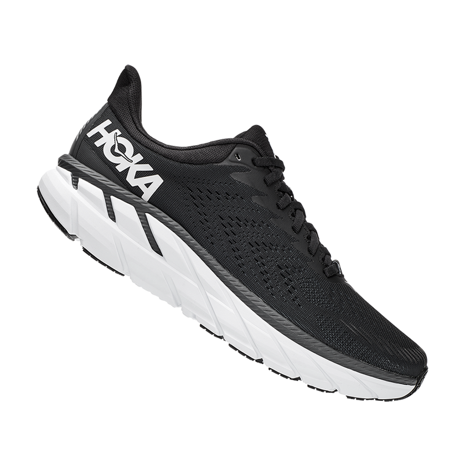Hoka One One Men's Clifton 7 Black/White