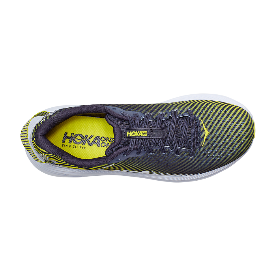 Hoka One One Men's Rincon 2 Odyssey Grey/White