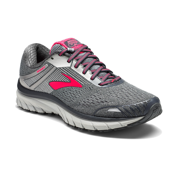 Brooks Women's Adrenaline GTS 18 Ebony/Pink