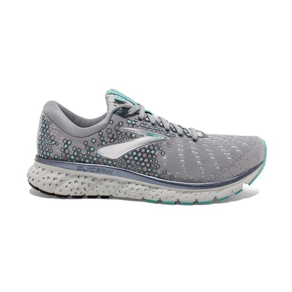 Brooks Women's Glycerin 17 Grey/Aqua