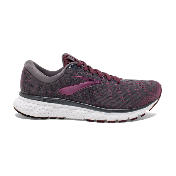 Brooks Women's Glycerin 17 Ebony/Wild Aster
