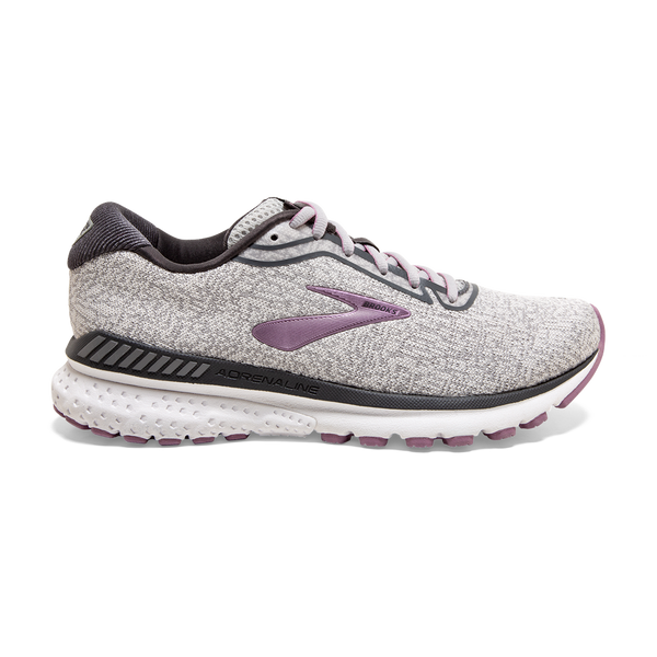 Brooks Women's Adrenaline GTS 20 Grey/White/Valerian