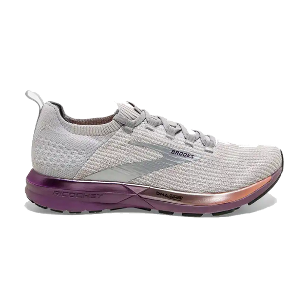 Brooks Women's Ricochet 2 Grey/Cantaloupe/Grape