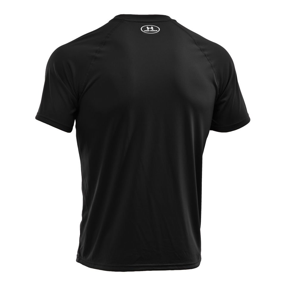 Under Armour Men's Short Sleeve Tech T-Shirt Black