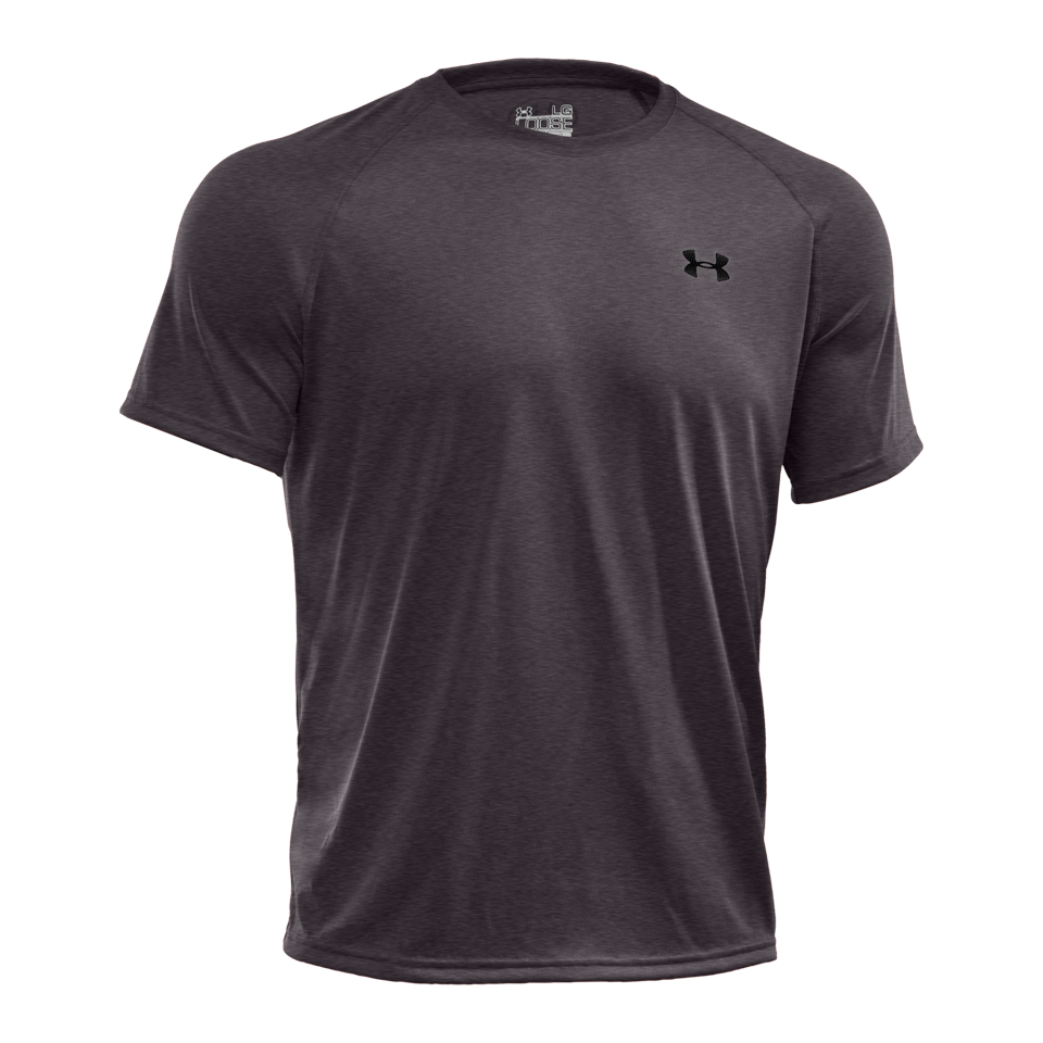 Under Armour Men's Short Sleeve Tech T-Shirt Carbon Heather