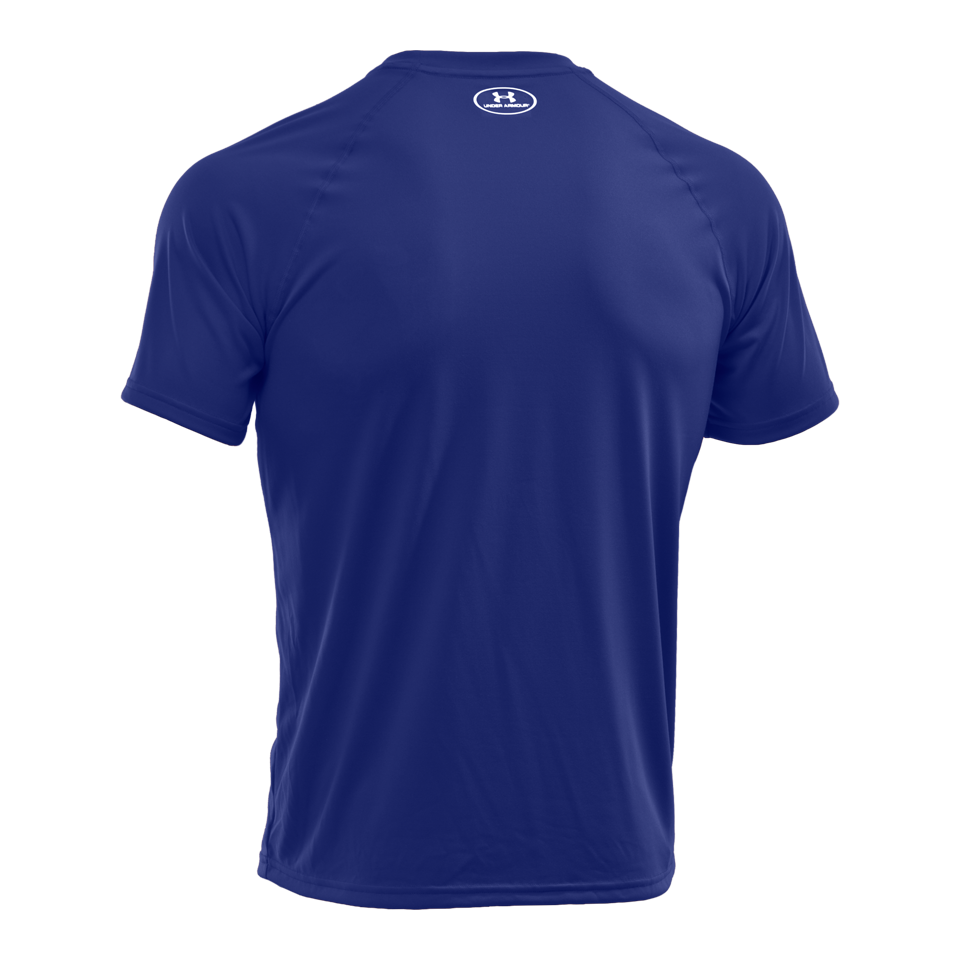 Under Armour Men's Short Sleeve Tech T-Shirt Royal