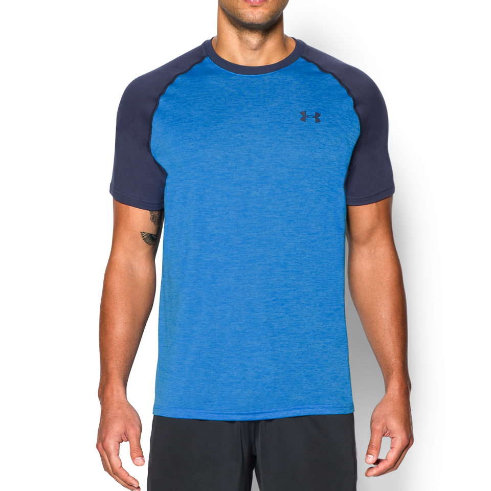 Under Armour Men's Short Sleeve Tech T-Shirt Electric Blue