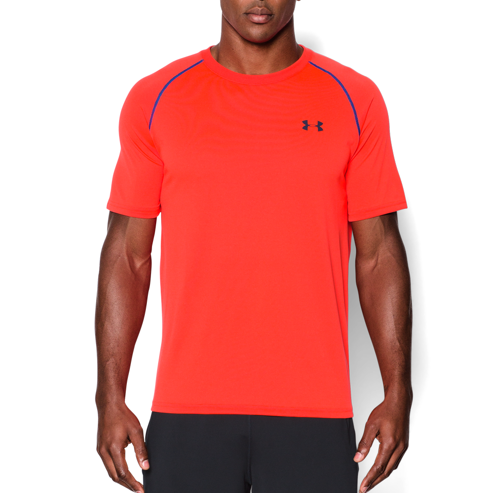 Under Armour Men's Short Sleeve Tech T-Shirt Orange