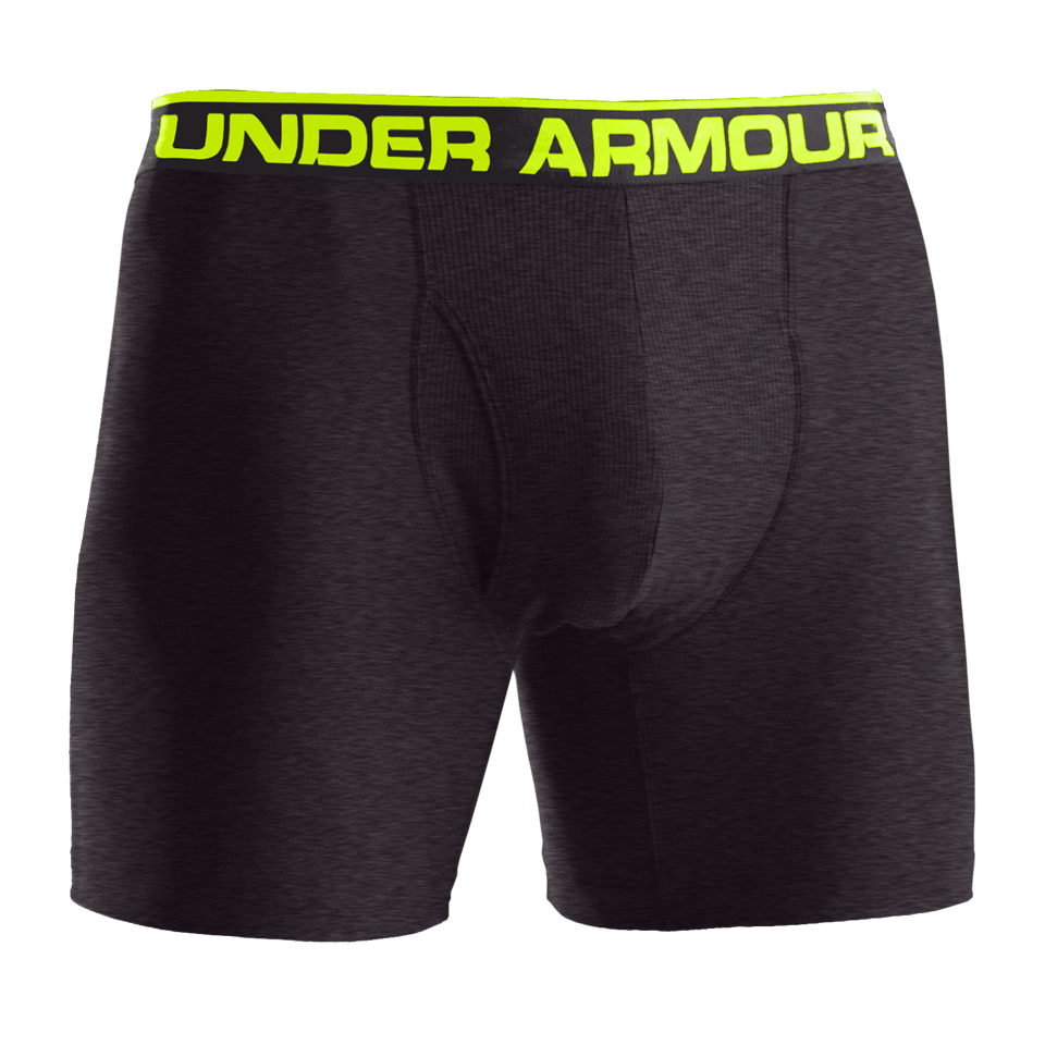 "Under Armour Men's Original Series 6"" Boxerjock Carbon Heather"