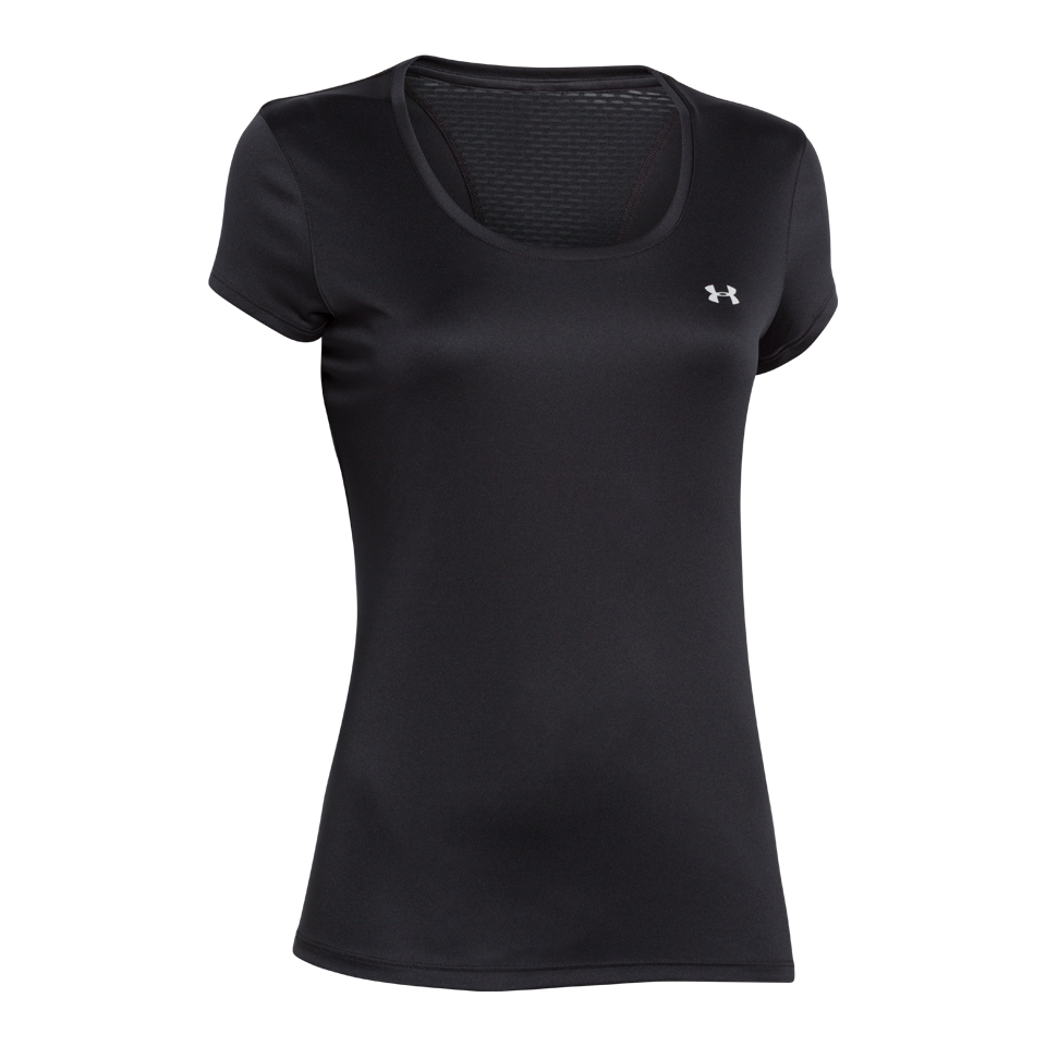 Under Armour Women's Flyweight Short Sleeve Running Shirt Black