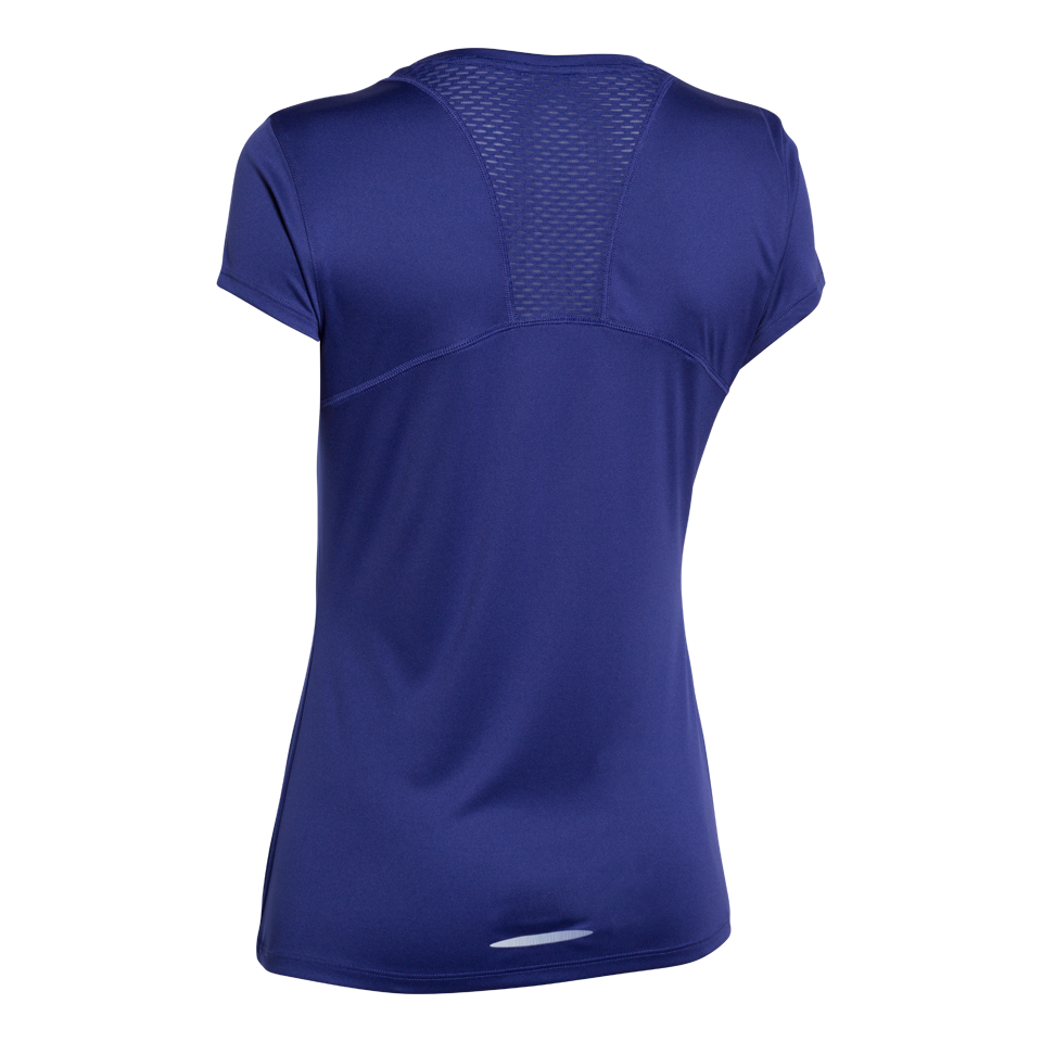 Under Armour Women's Flyweight Short Sleeve Running Shirt Purple