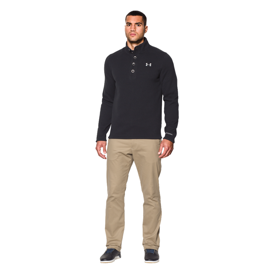 Under Armour Mens Specialist Storm Sweater Black Play Stores Inc