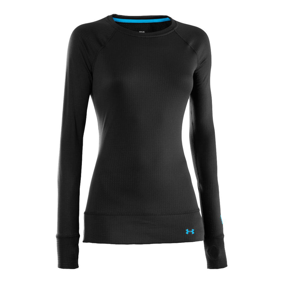 Under Armour Women's Base 2.0 Crew Black