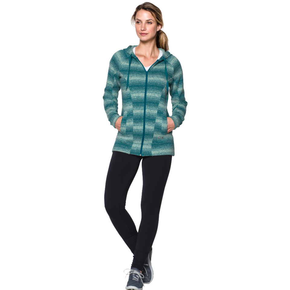 Under Armour Women's Wintersweet Hoodie Emerald