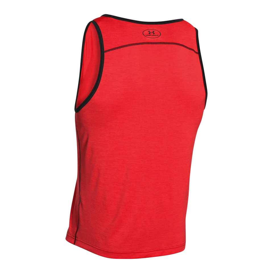 Under Armour Men's Tech Tank Rocket Ret