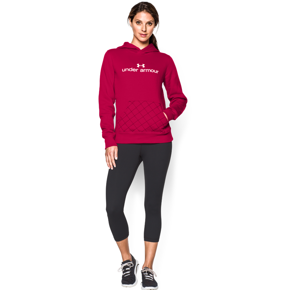 Under Armour Women's Established Hoodie Red