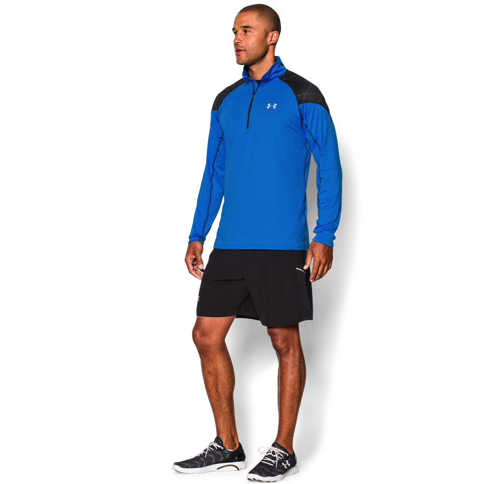 Under Armour Men's ColdGear Infrared 1/2 Zip Blue