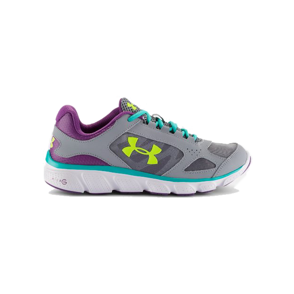 Under Armour Girls GS Assert V 3.5-7 Grey