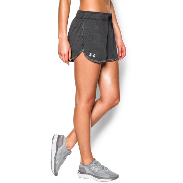Under Armour Women's Tech Short Carbon Heather