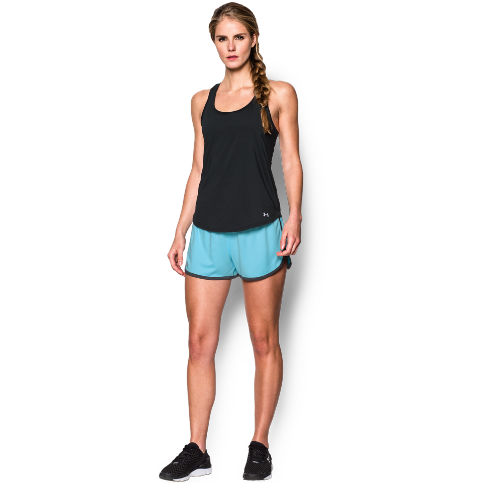 Under Armour Women's Tech Short Sky Blue