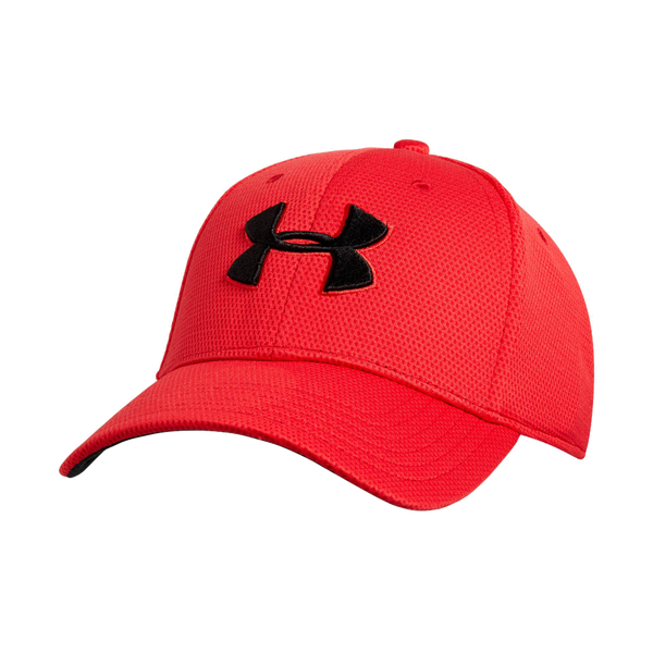 Under Armour Men's Blitz Stretch Fit Cap Red
