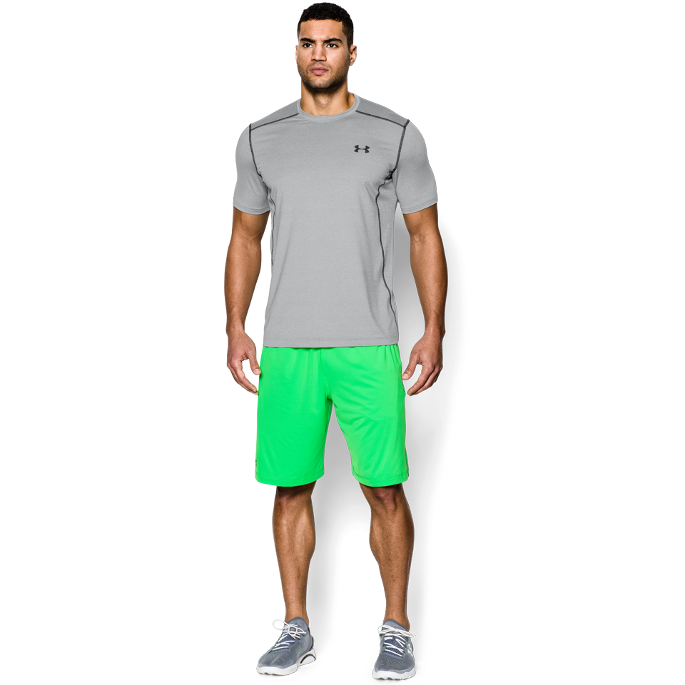 Under Armour Men's Raid Short Sleeve Tee True Grey Heather