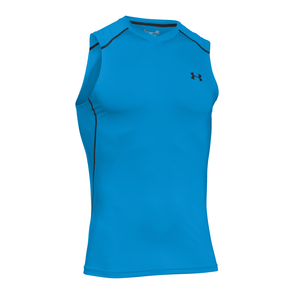 ad7c84975 Under Armour Men's Raid Sleeveless Tee Electric Blue - Play Stores Inc